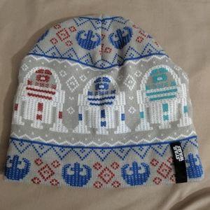 Starwars R2-D2 ugly sweater beanie